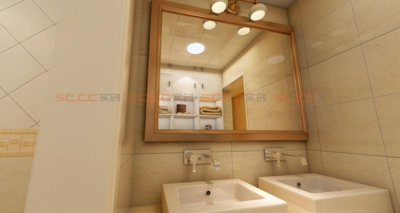 欧式 实创陈浩 卫生间图片来自南京实创装饰陈浩在欧式典雅 沁人心脾的分享