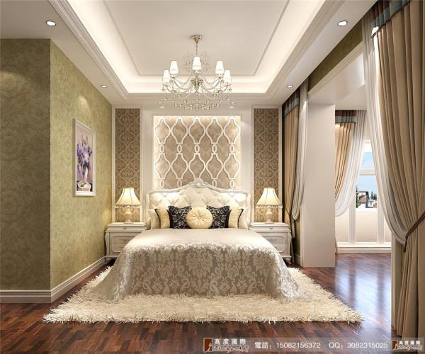 中粮祥云卧室细节效果图----高度国际装饰设计