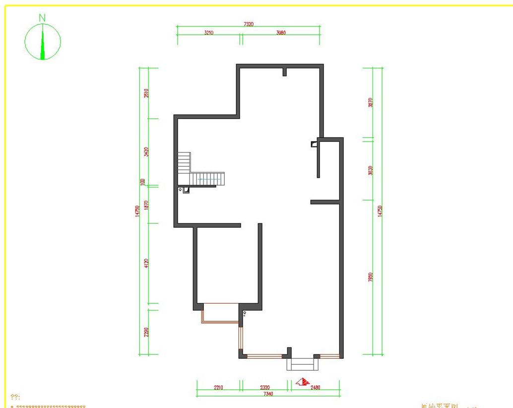 欧式 别墅 白领 收纳 旧房改造 小资 80后 户型图图片来自实创装饰完美家装在顺鑫花语210平欧式风格案例赏析的分享