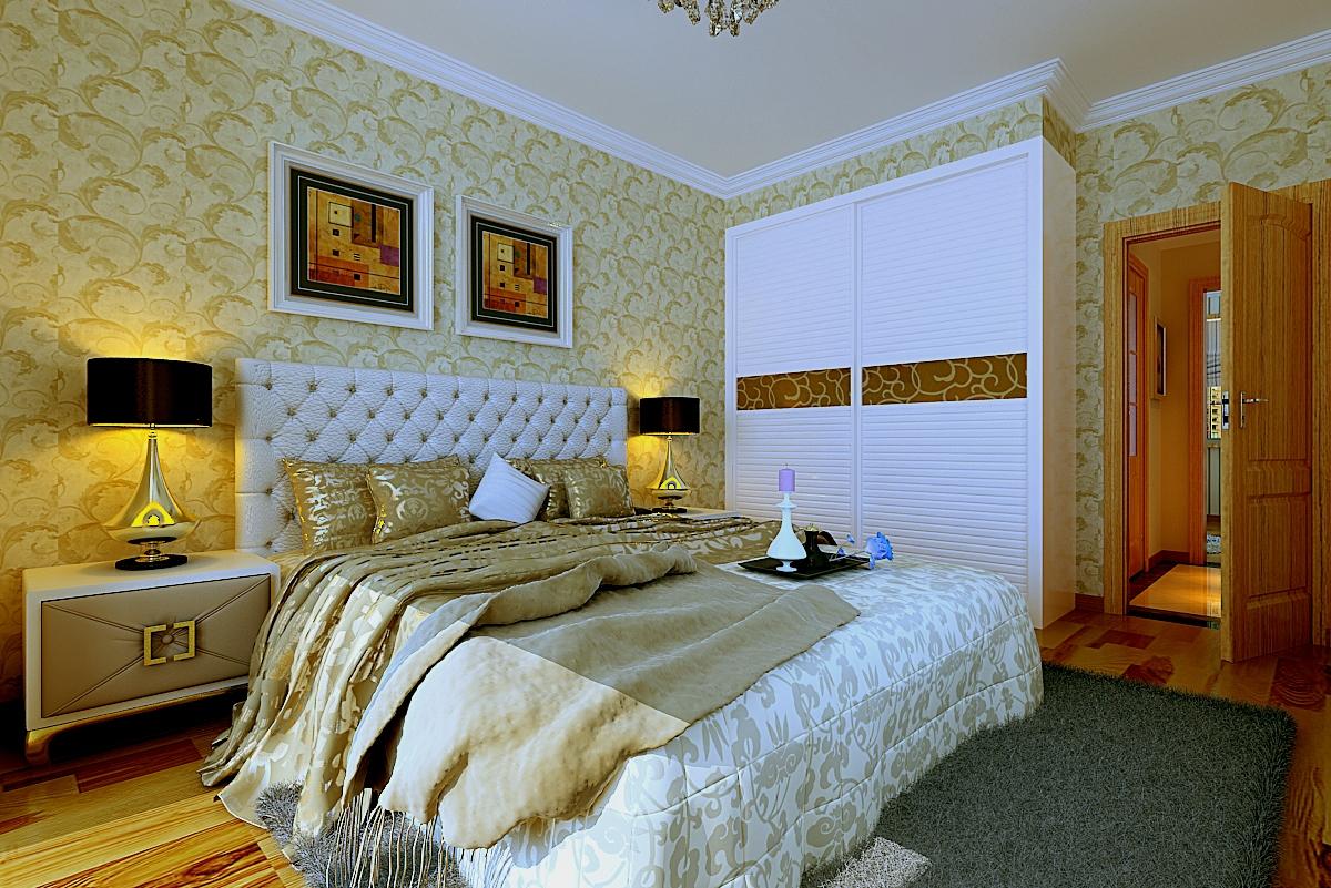 简约 三居 小资 卧室图片来自兰州业之峰大户型设计中心在景园盛世华都107经典案例的分享