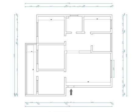 日升装饰 西安日升装 新中式效果 装修公司 户型图图片来自西安日升装饰在海泊香庭新中式的分享