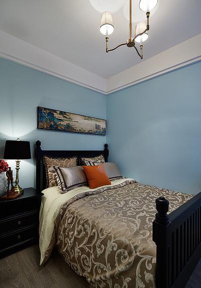 卧室图片来自家装大管家在雍容清雅 140平古典美式时尚4居的分享