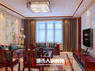 太原湖滨文锦苑170平米装修设计
