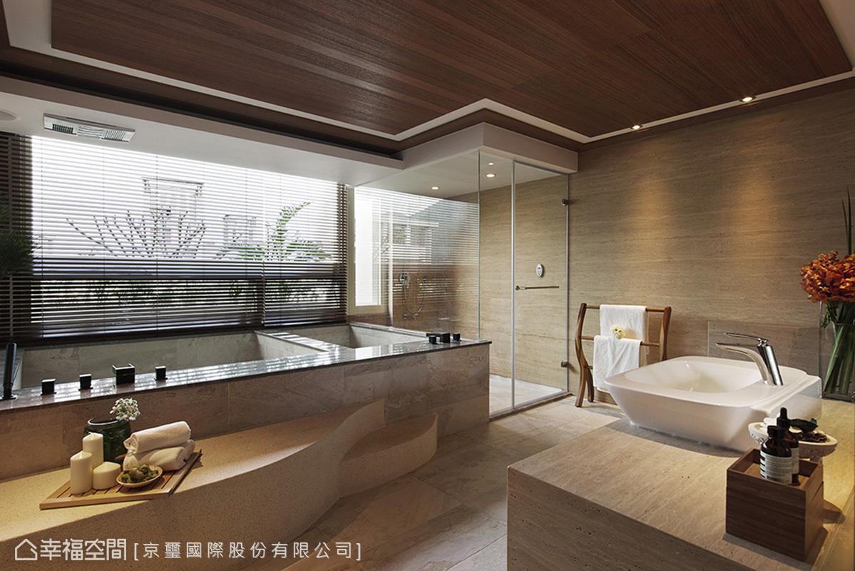 白领 简约 卫生间图片来自幸福空间在150平峇里岛顶级酒店渡假!的分享