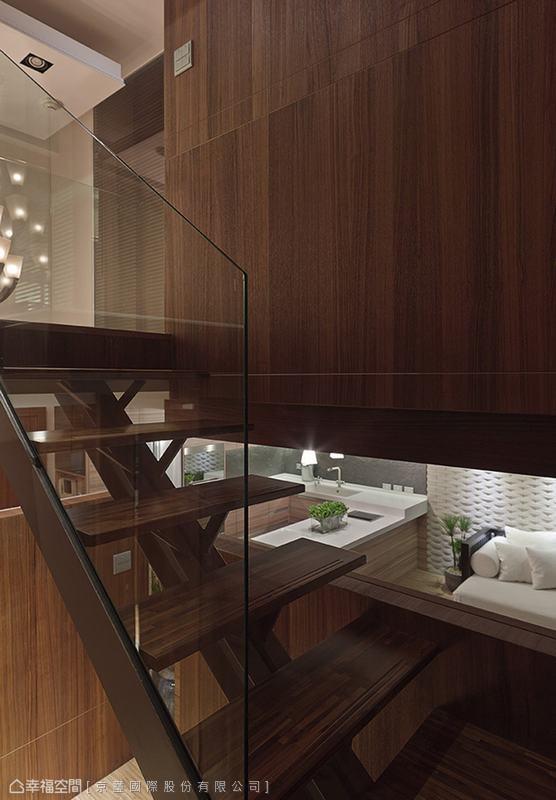 白领 简约 楼梯图片来自幸福空间在150平峇里岛顶级酒店渡假!的分享