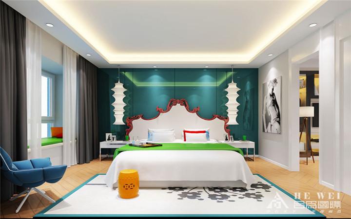 简约 生活情趣 一首曲子 真、善、美 不失个性 卧室图片来自北京精诚兴业装饰公司在庄胜二期的分享