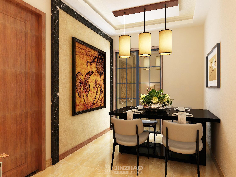 装修 效果图 石家庄 客厅 三居 现代 餐厅图片来自石家庄装饰家美1在石家庄小区海棠湾现代风格效果图的分享