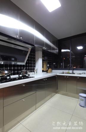 云顶嘉园 混搭 舒适 厨房图片来自自然元素装饰在云顶嘉园混搭风装修案例的分享