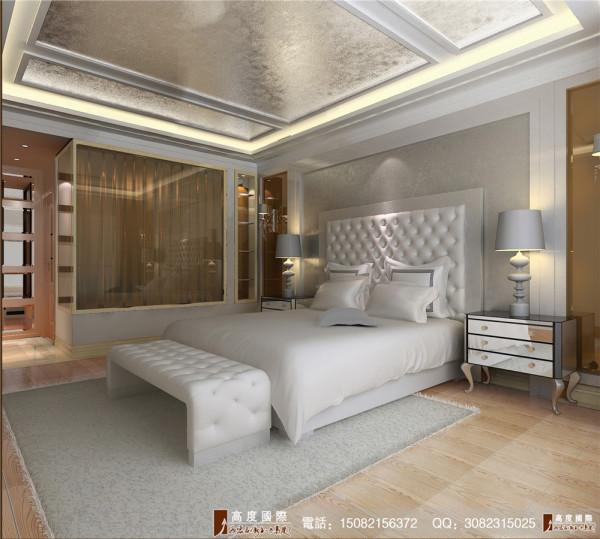 现代欧式风格案例赏析卧室.高度国际装饰呈现