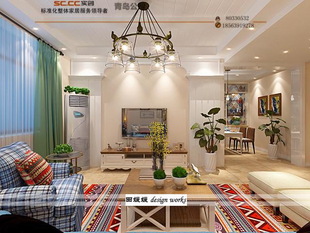 卓越蔚蓝群 三居 白领 收纳 旧房改造 80后 小资 简约 餐厅图片来自青岛实创孟想在卓越蔚蓝群岛96平的分享