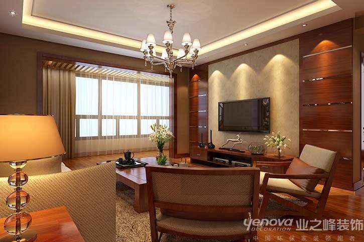 中式风格 装修效果图 四居室设计 兰州业之峰 客厅图片来自兰州业之峰装饰公司在新中式风格的分享