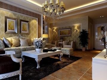 白桦林·印象-3居室-简欧设计鉴赏