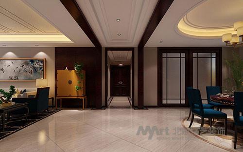 米黄色尽显温馨浪漫的情调,黑色则凸显了室主人的尊贵身份。诸多设计元素融为一体,统一在一个既古典,又现代的尊贵氛围中,带给人无限的愉悦感受。