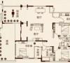 鑫苑景园三室两厅美式装修效果图