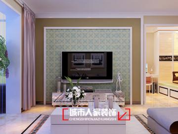 华峪东区94平米装修设计案例