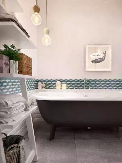 欧式 白领 收纳 80后 小资 卫生间图片来自实创苗苗在【实创装饰】转角空间利用典范的分享