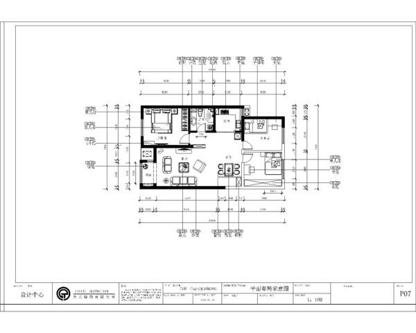本案为童年河小区3室2厅1厨1卫93㎡户型。