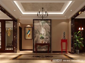新中式时尚居 高度国际 180㎡