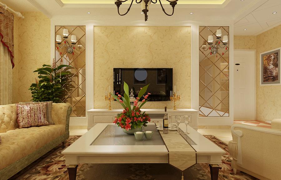 欧式 白领 小资 田园 客厅图片来自广州生活家家居在欧式风格温馨大气的分享