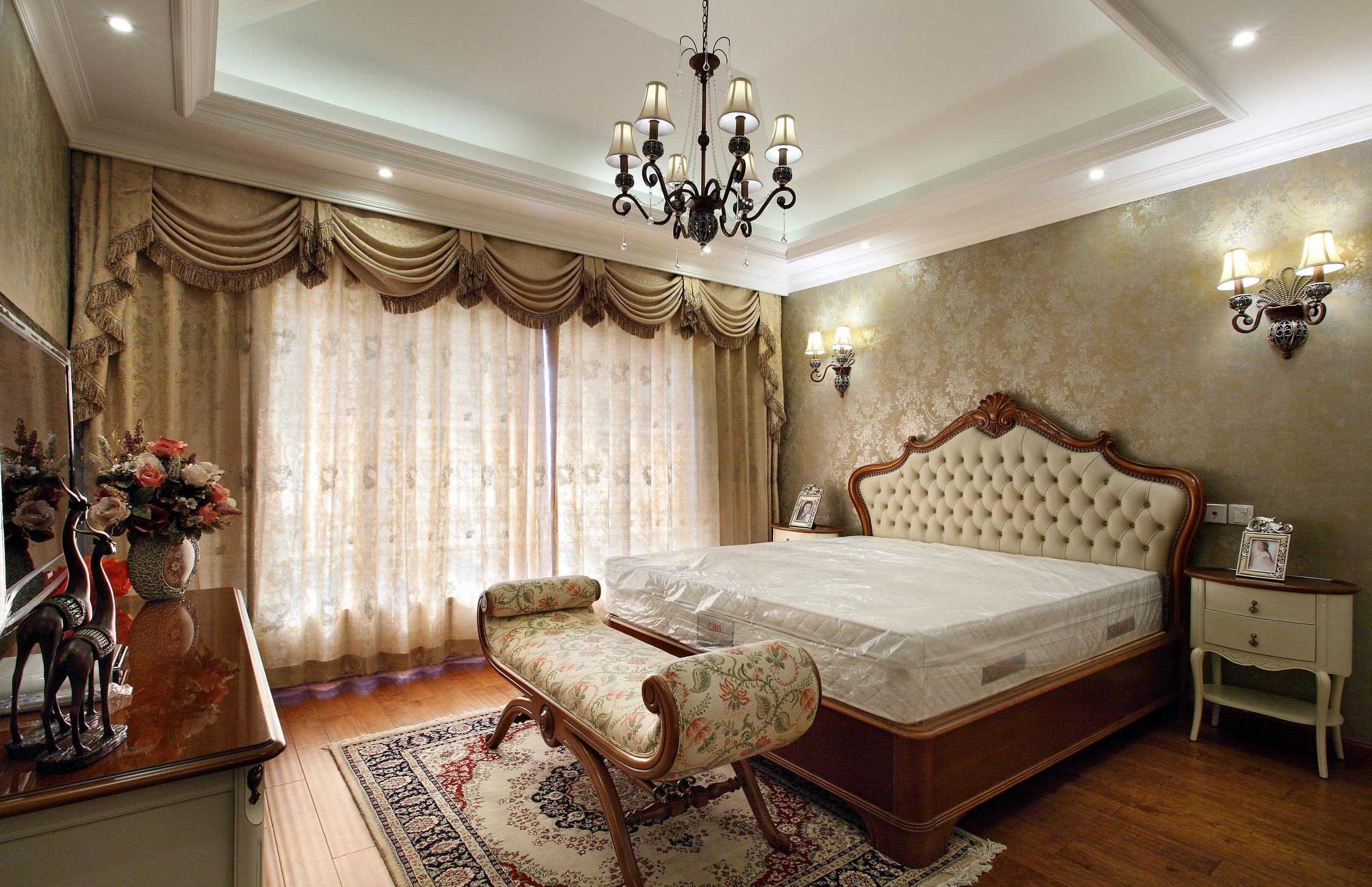 卧室图片来自小若爱雨在简约欧式的分享