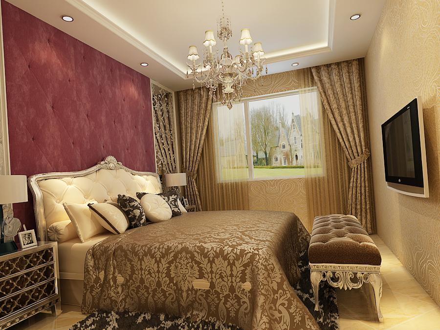 欧式 白领 小资 田园 卧室图片来自广州生活家家居在欧式风格温馨大气的分享