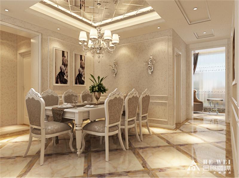 简欧半包 简单、自然 宁静、安逸 餐厅图片来自北京精诚兴业装饰公司在香悦四季的分享