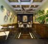 远洋公馆 200平欧式风格