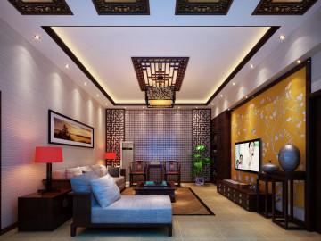 四季经典园-中式古典风格装修