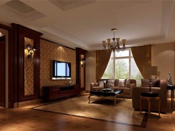 鲁能7号院 226坪 托斯卡纳风格