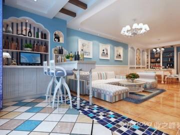 阳光怡园 地中海风格设计案例
