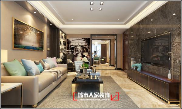 光信国信嘉园170平米现代时尚