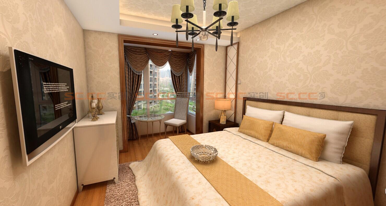 混搭 实创陈浩 卧室图片来自南京实创装饰陈浩在混搭也是一种美的分享