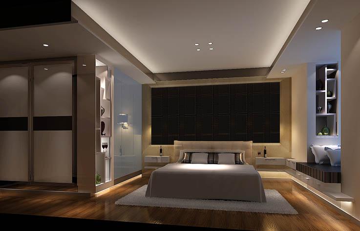 时尚复古 三居 小资 白领 高度国际 卧室图片来自高度国际姚吉智在丽都壹号 130坪 时尚复古风格的分享