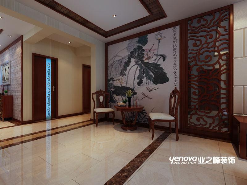 四居室 新中式 效果图 兰州业之峰 兰州装修 其他图片来自兰州业之峰装饰公司在银滩雅苑的分享