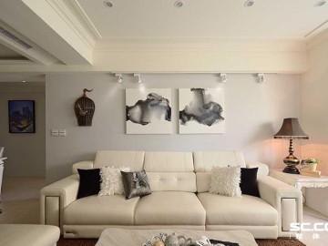 三居室130平新古典的轻质之美