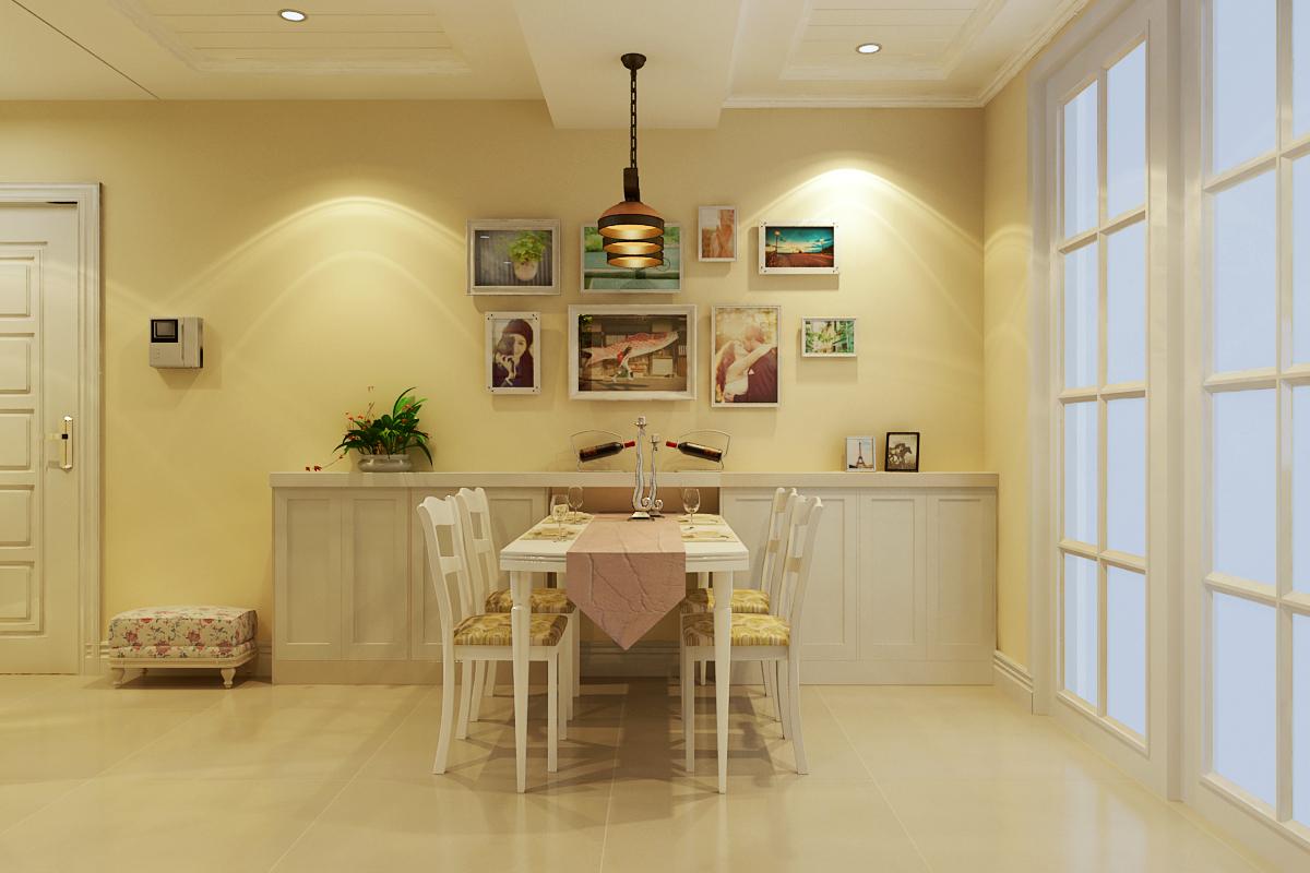 田园 三居 收纳 小资 餐厅图片来自广州生活家家居在水晶园田园风格的分享