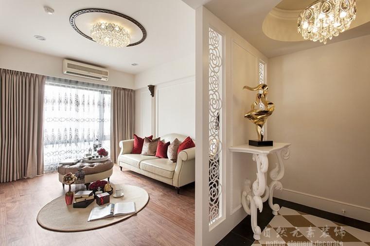 半岛城邦 新古典 简约 客厅图片来自自然元素装饰在半岛城邦新古典风格装修案例的分享