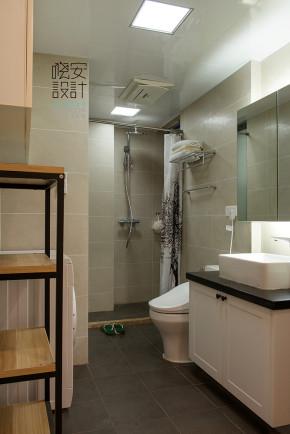 美式 一室 温馨 80后 小资 简约 卫生间图片来自周晓安在水韵花都-麋鹿森林的分享