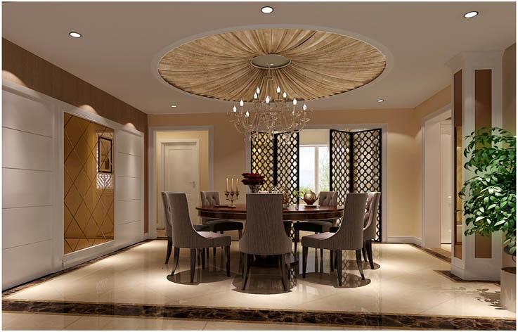 港式 三居 白领 小资 高度国际 餐厅图片来自高度国际姚吉智在中铁花语城 140坪 港式风格的分享