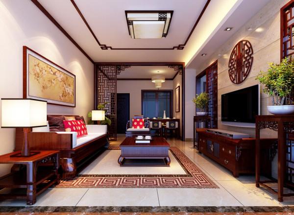 中式风格 对称式的布局,气势恢宏,庄重而优雅。古朴典雅、意韵悠长,带着浓浓的文化气息。