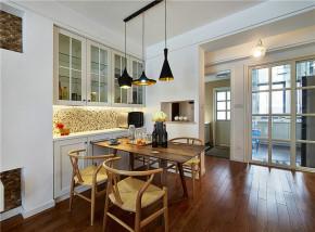 简约 欧式 二居 小资 宜家 北欧 餐厅图片来自佰辰生活装饰在89平方宜家北欧房的分享