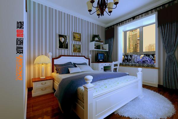 """主卧当疲惫的身心对家的依恋越发强烈,人们想要的是轻松、自由的环境,""""现代简约风格""""自然就成为家居设计的一种风尚。"""