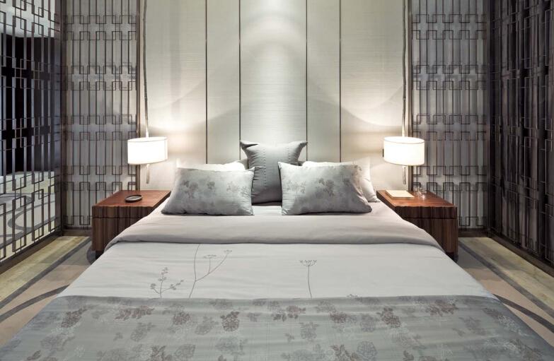 现代简约 卧室图片来自紫禁尚品设计师李擎在紫玉公馆现代简约的分享