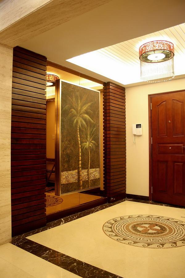 东南亚风格 泰式风格 平层装修 玄关图片来自实创装饰上海公司在泰式风格之神韵的东南亚的分享