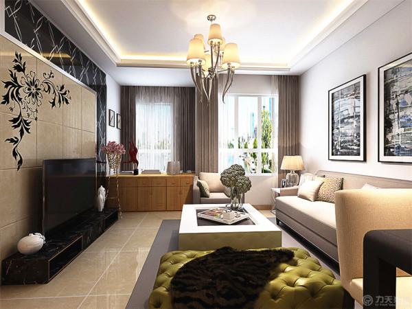 本户型是象博豪庭2室2厅1厨1卫91平方米的房子。本户型设计成现代为主欧式为辅的混搭风格户型。