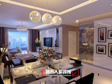 府西国际公寓146平米装修设计