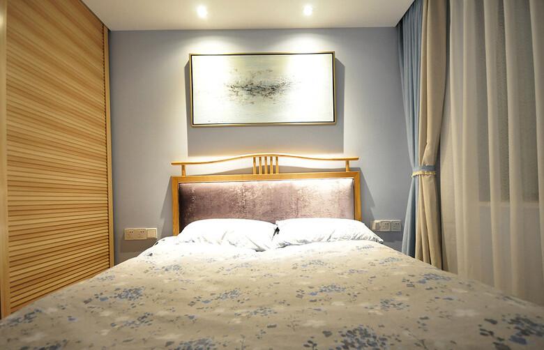 日升装饰 西安日升装 装修效果图 装修公司 卧室图片来自西安日升装饰在曲江香都83平米新中式的分享