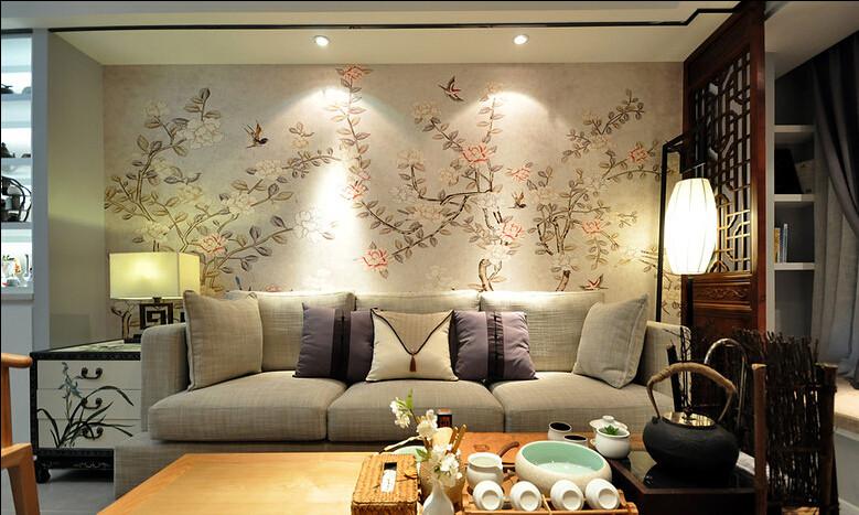 日升装饰 西安日升装 客厅图片来自西安日升装饰在曲江香都83平米新中式的分享