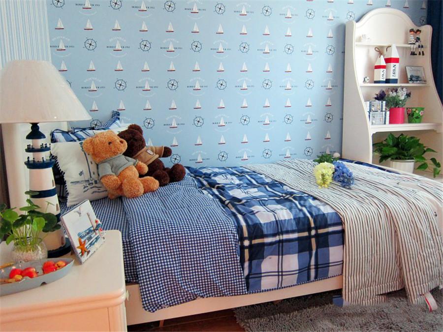 地中海 龙阳一号 慕尚家居 家装 二居 80后 收纳 儿童房图片来自慕尚族在龙阳一号82㎡地中海的分享