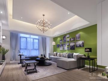 白金假日公寓现代简约风装修案例